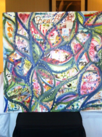 Finished Painting from Feel Good Friday 100512