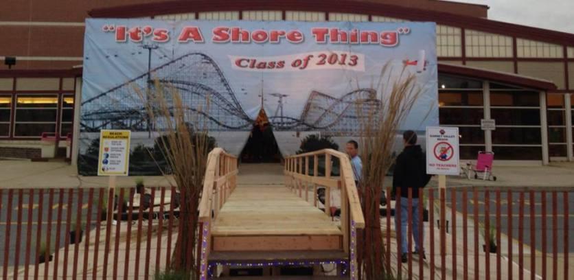 Garnet Valley High School Post Prom Entrance