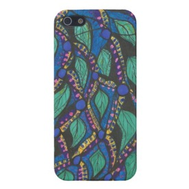 Almost Paisley iPhone case available in my Zazzle store