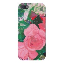 Summer Roses iPhone case available in my Zazzle store