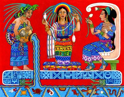 Mayan Mood Goddess Ixchel