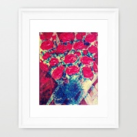 pop-rose-framed-prints